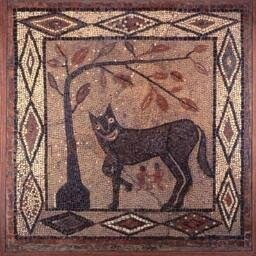 Romulus and Renus in a Mosaic