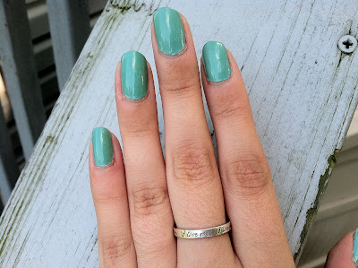 Tiffany, blue, nail polish, For Audrey
