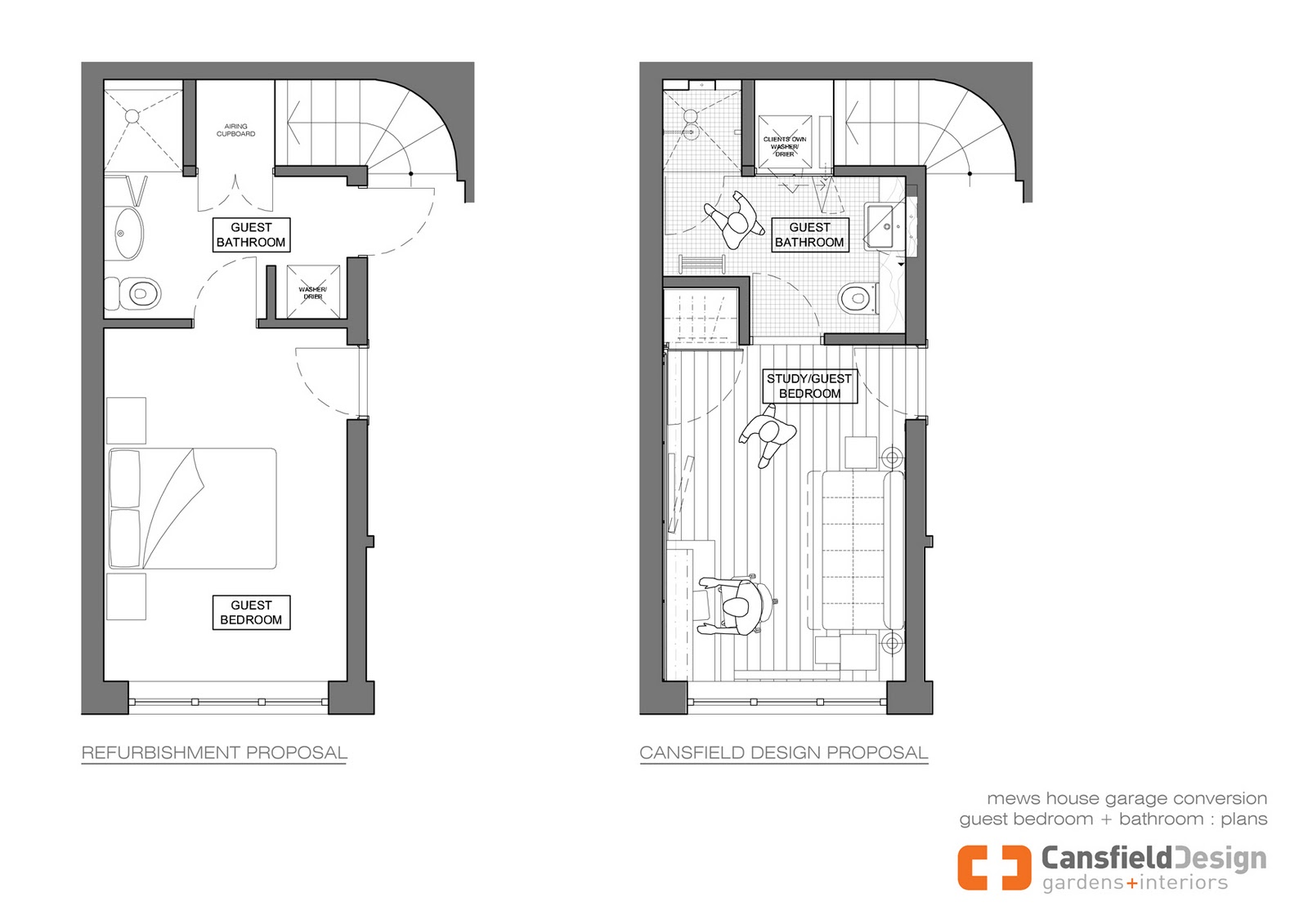 Garage Conversion Plans