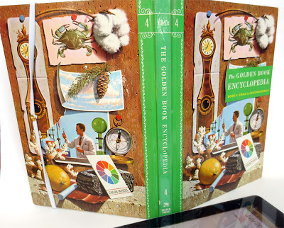 Golden Book Encyclopedia circa 1960, volume 4