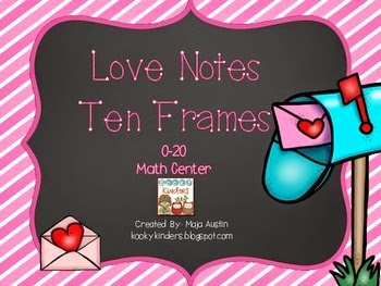 https://www.teacherspayteachers.com/Product/Love-Notes-Ten-Frames-0-20-Math-Center-1682398
