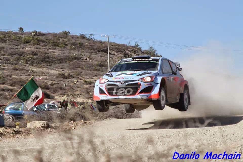 WRC Rally Guanajuato Mexico 2014