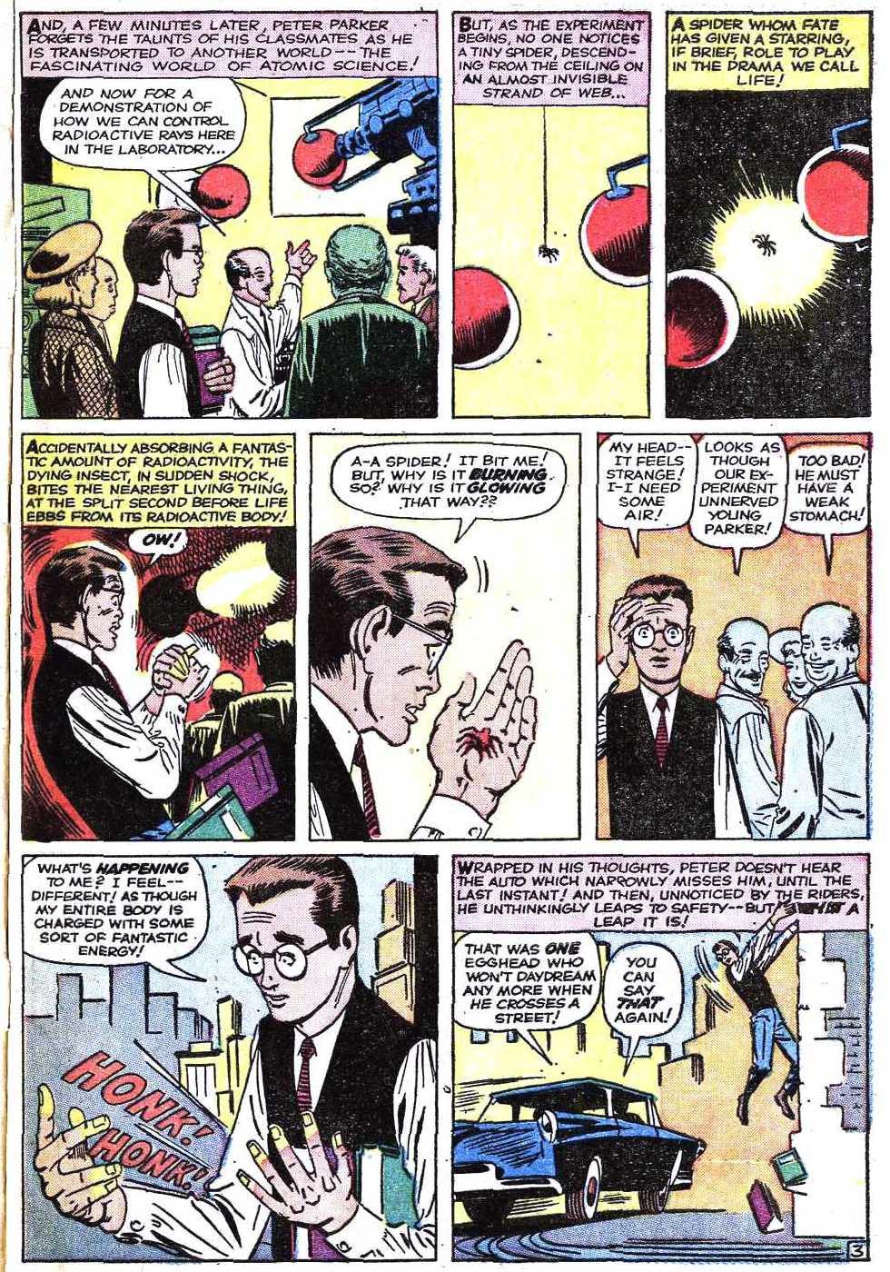 The warrior 39 s comic book den amazing fantasy 15 spider man - Marvel spiderman comics pdf ...