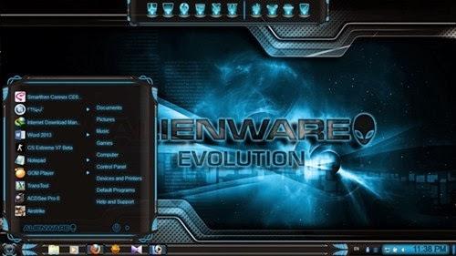 Alienware Evolution Theme Win 7