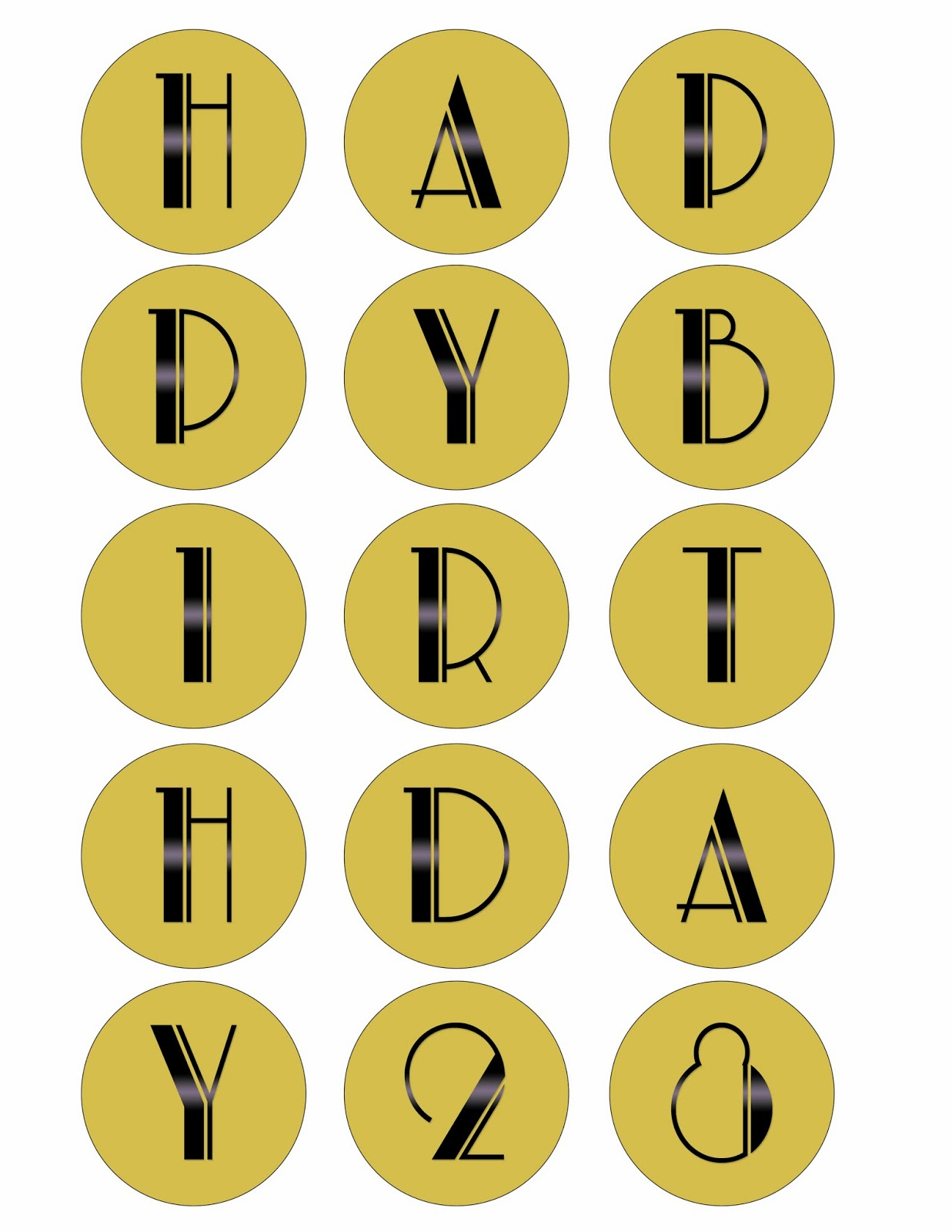 Madcap Frenzy Graphic Design Diy And Everything In Between End Of The Roaring 20s 1920s Speakeasy Birthday Party Printables