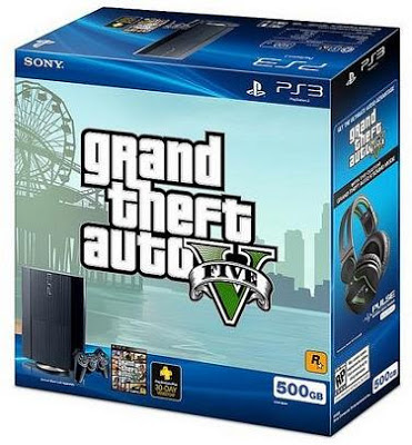 GTA 5 comes with the PS3 as a bundle for $300