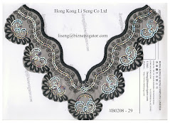 Embroidered Net Applique Manufacturer - Hong Kong Li Seng Co Ltd