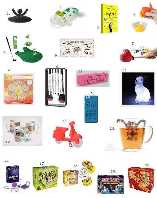 Noël : Cadeaux Gadgets et Jeux à moins de 20€