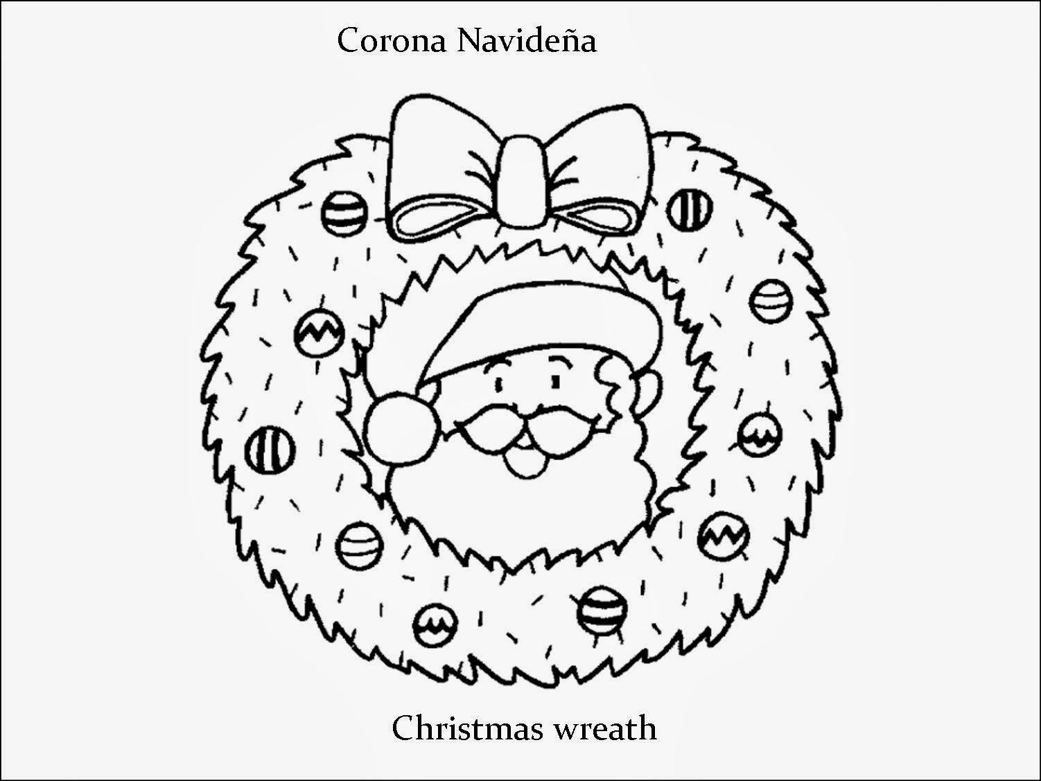 Imagenes para dibujar en Ingles y español: Imagenes de Navidad para ...