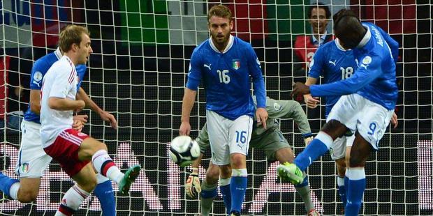 Hasil Pertandingan Italia vs Denmark, 17 Oktober 2012