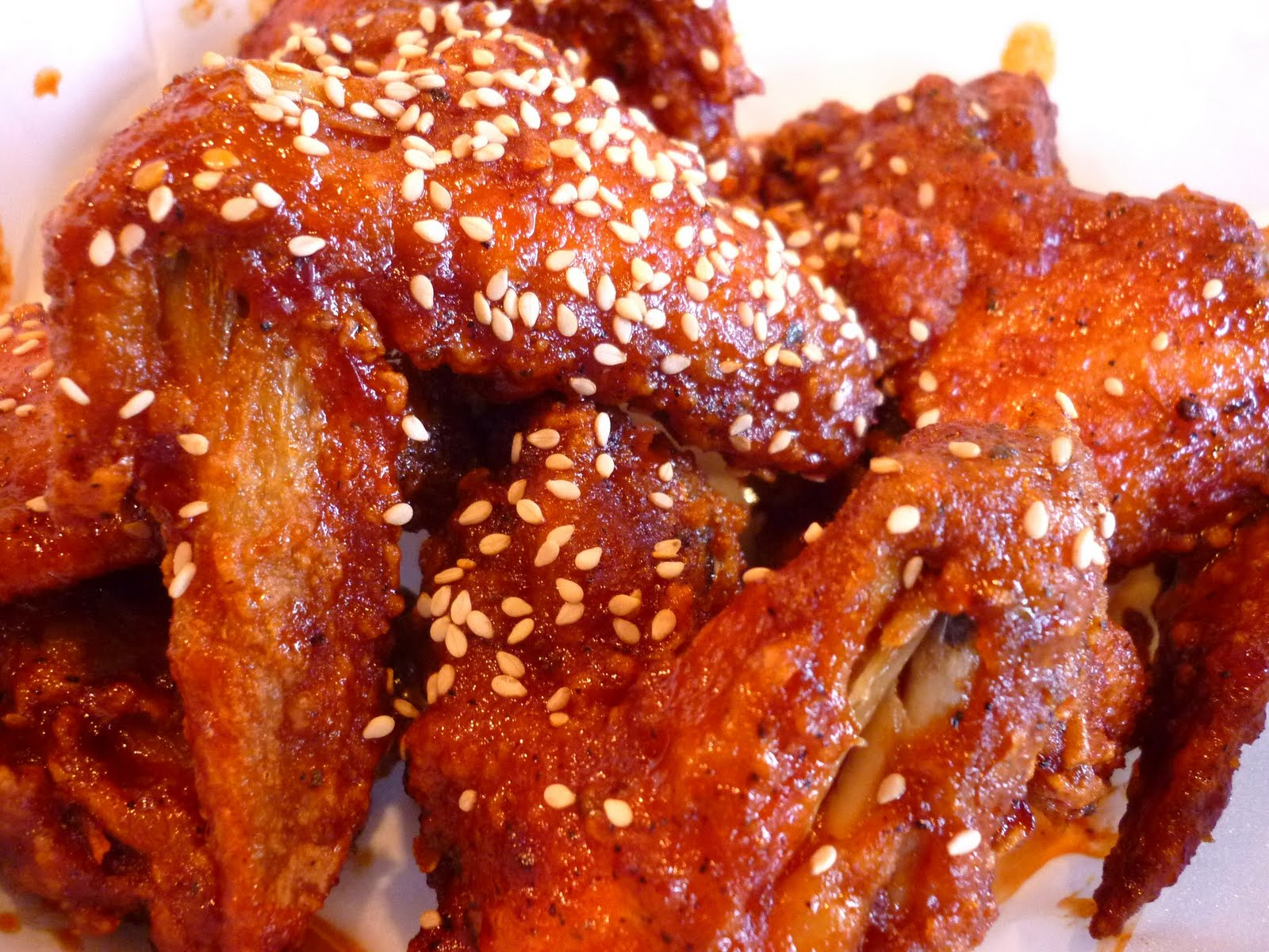 Korean Fried Chicken Wings Recipes — Dishmaps