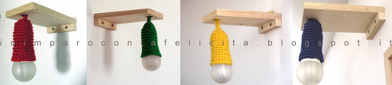 Io imparo con la felicit lampade da parete fai da te - Parete in legno fai da te ...