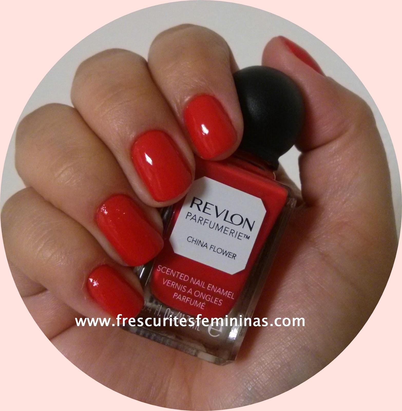 Revlon Perfumerie Frescurites Femininas Red Nails