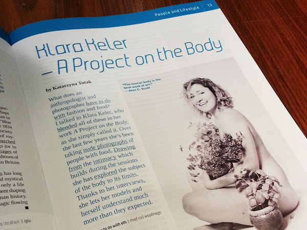 A Project on Body: I've been interviewed!