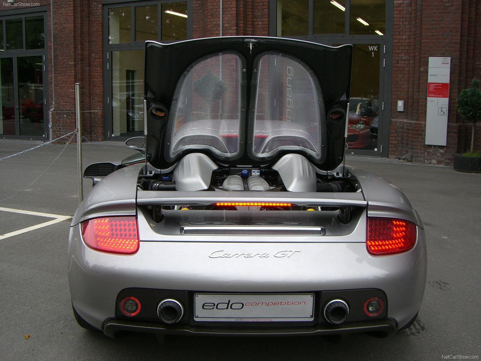 Hình ảnh siêu xe Edo Porsche Carrera GT 2007 & nội ngoại thất