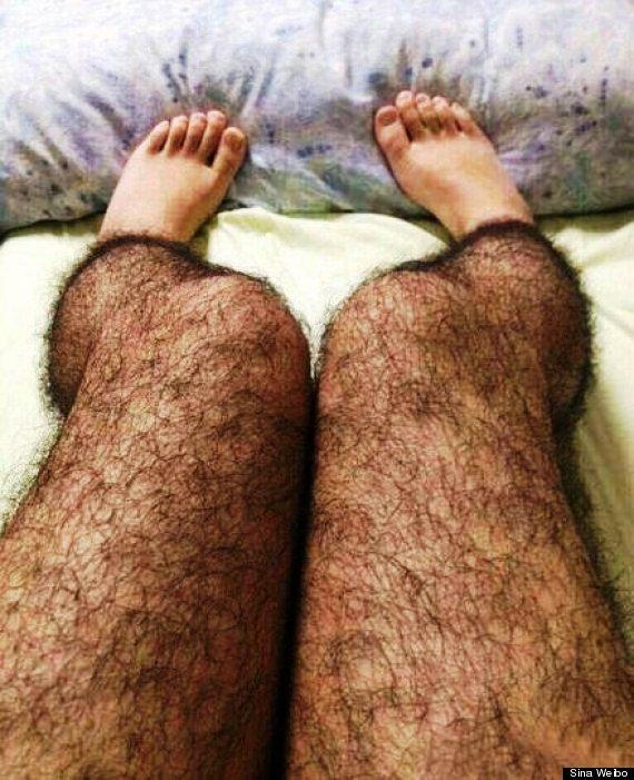Fotos de piernas velludas de hombre
