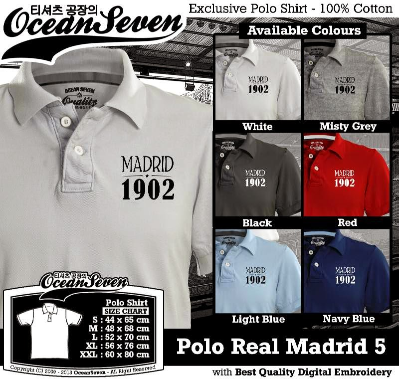 Kaos Polo Real Madrid 5
