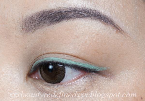 La Girl Line Art Matte Eyeliner Review : Beautyredefined by pang stila stay all day waterproof liquid eye