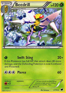 Beedrill Plasma Freeze Pokemon Card