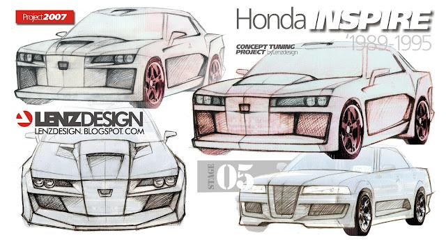 Lenzdesign - Honda Inspire Tuning Concept 2007