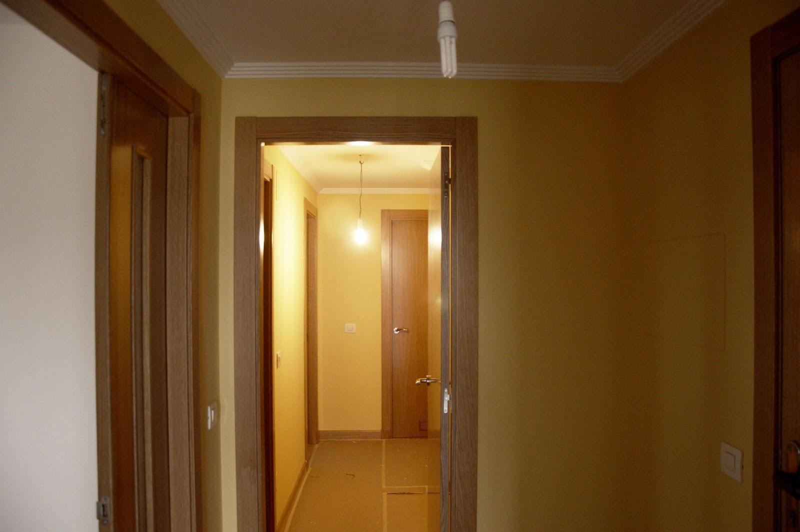 Isaac pintura un piso por 800 - Pasillos pintados ...