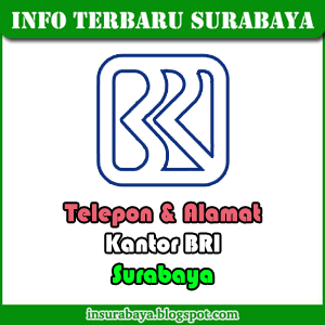 Telepon Alamat Kantor BRI di Surabaya