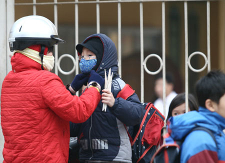 Dự báo thời tiết hôm nay 6/1/2016: Bắc Bộ đón đợt không khí lạnh mới