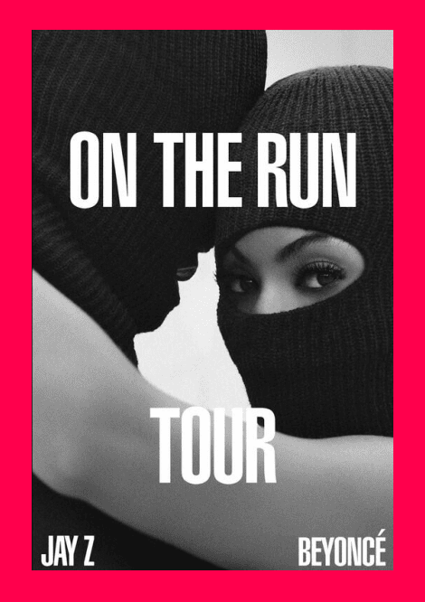 Beyoncé and Jay Z are 'On The Run'
