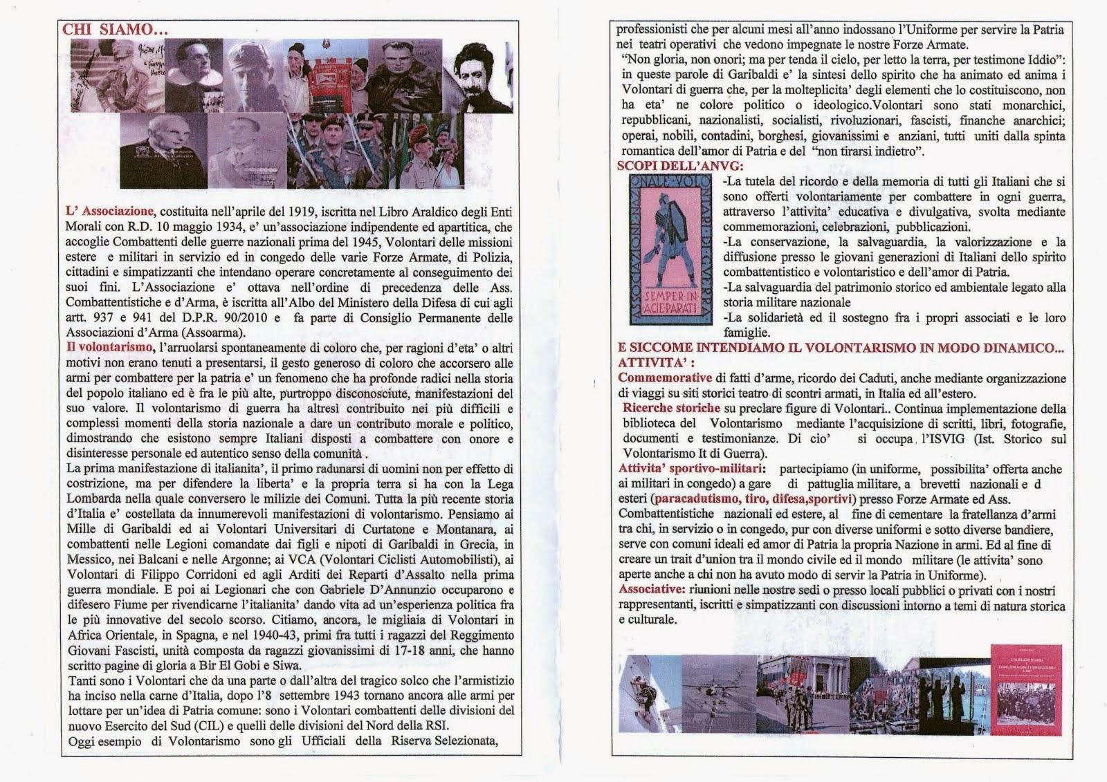 ANVG ASSOCIAZIONE NAZIONALE VOLONTARI DI GUERRA 2