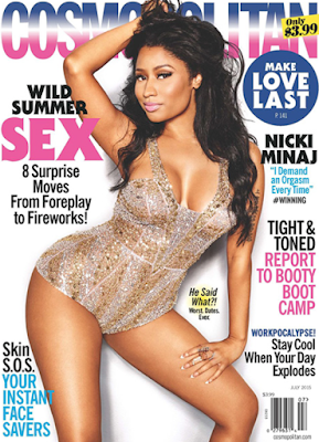 Nicki Minaj demands she has an orgasm during sex.