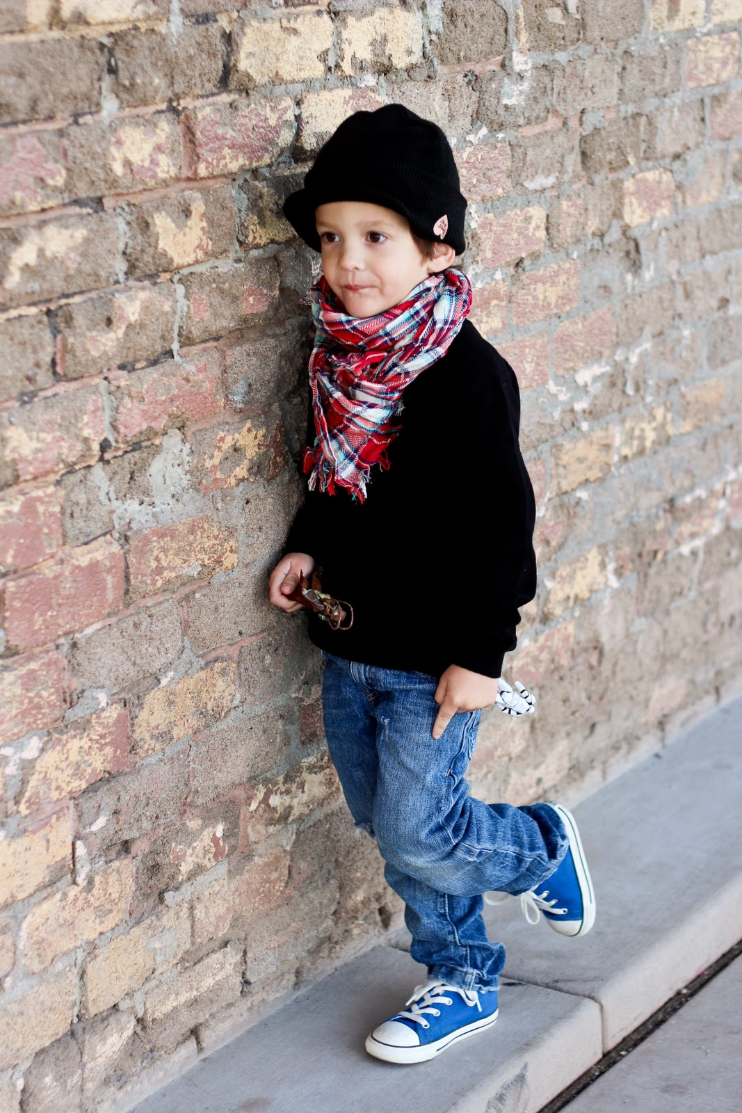 Finley and Oliver: What He Wore: BOY style