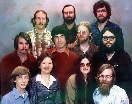 25 Breathtaking Photos From The Past - Microsoft staff photo from December 7, 1978