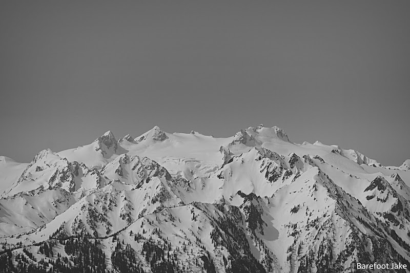 Bailey Range and mount olympus