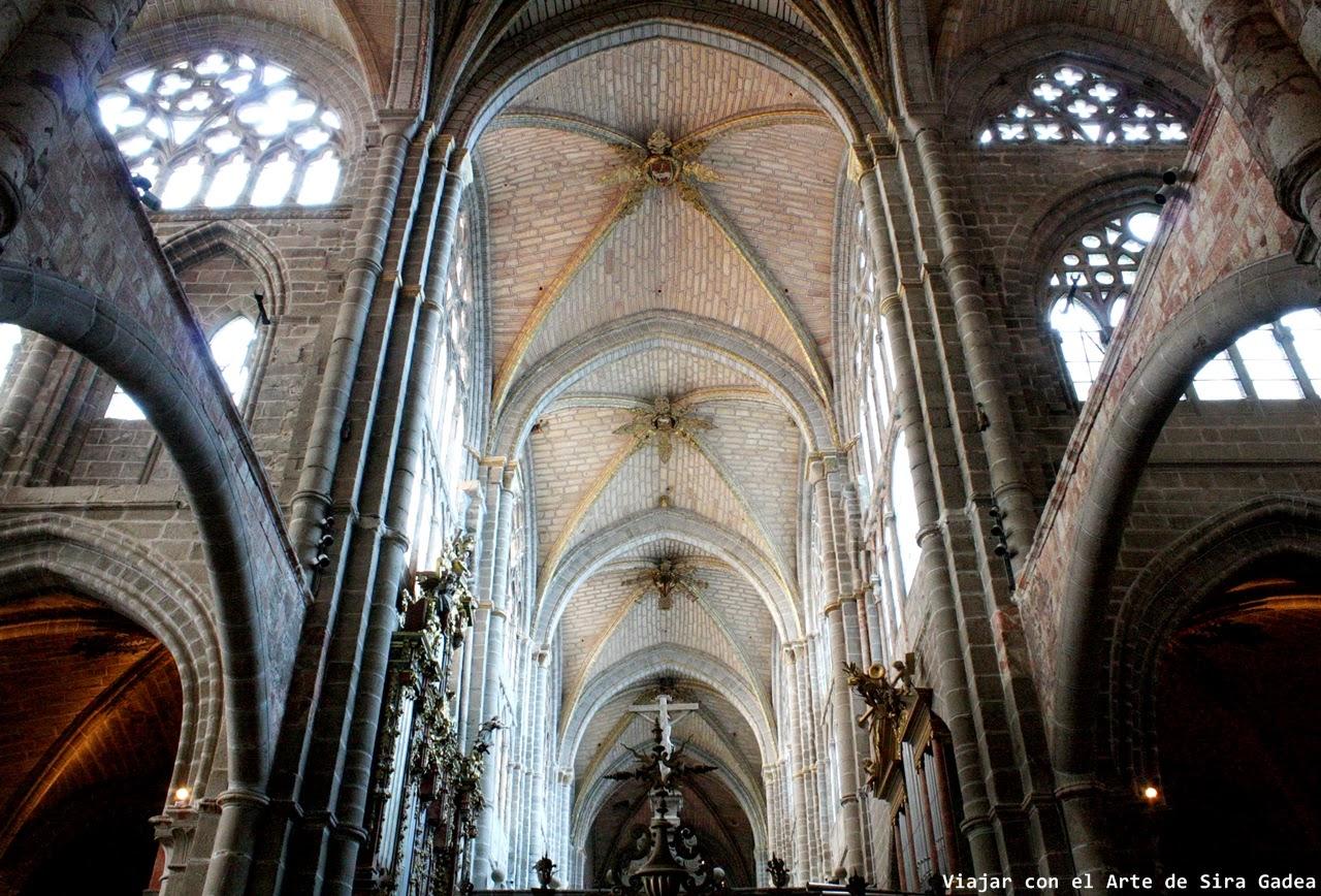 Catedral Ávila crucero