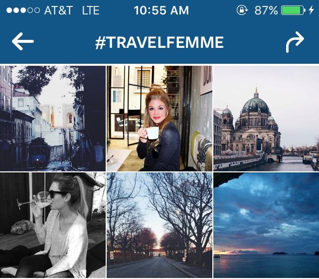 travel tuesday best instagram hashtags for female