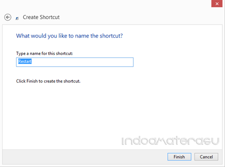 Shortcut Shutdown dan Restart Pada Windows 8/ 8.1/ 10 5