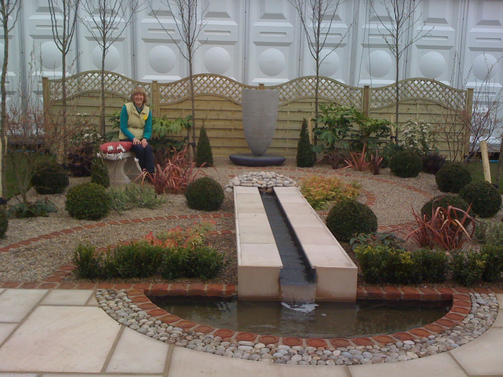 Harrogate spring flower show award a yorkshire garden for Garden design harrogate