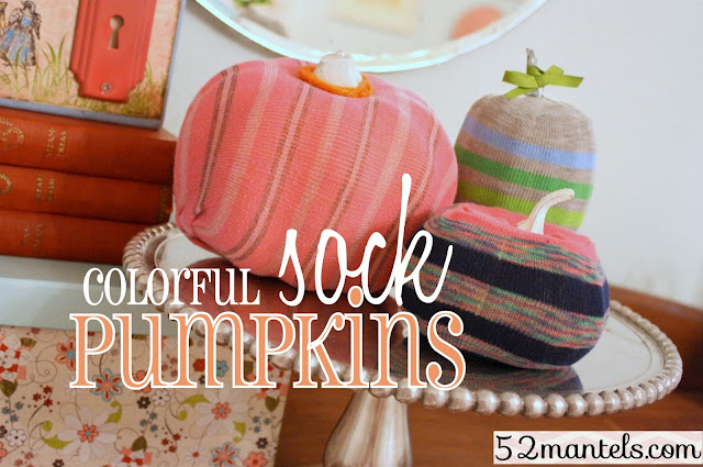 Sock Pumpkin Crafts