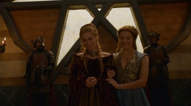 Conversación Margaery Cersei lluvias castamere - Juego de Tronos en los siete reinos
