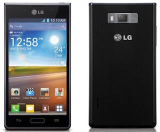 LG Optimus L7 Warna Hitam