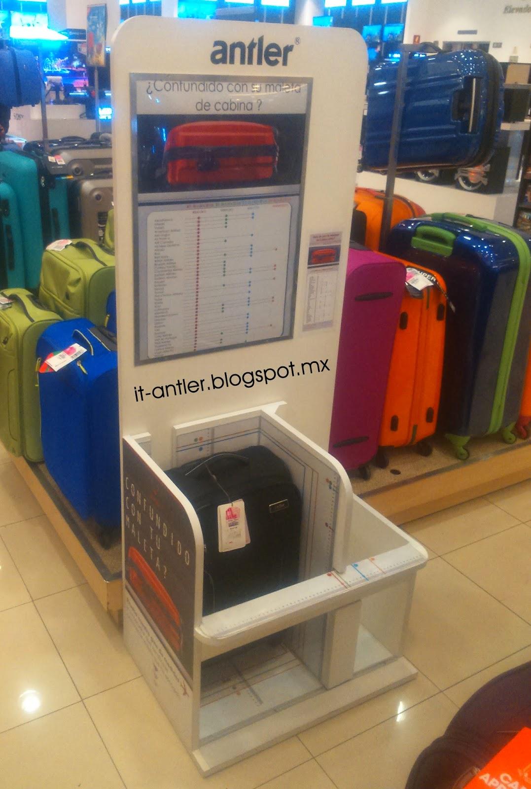 Medidas maletas de cabina y peso equipaje antler y it luggage - Medidas maleta cabina vueling ...
