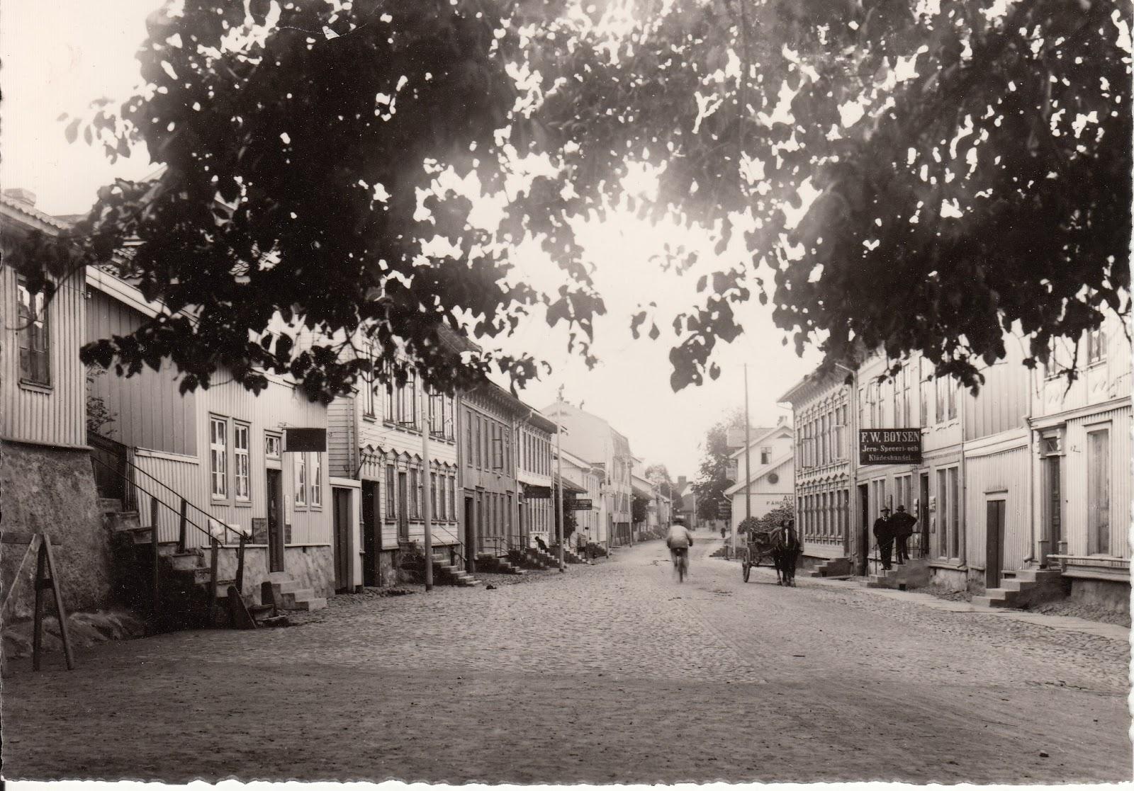 västra gatan kungälv butiker