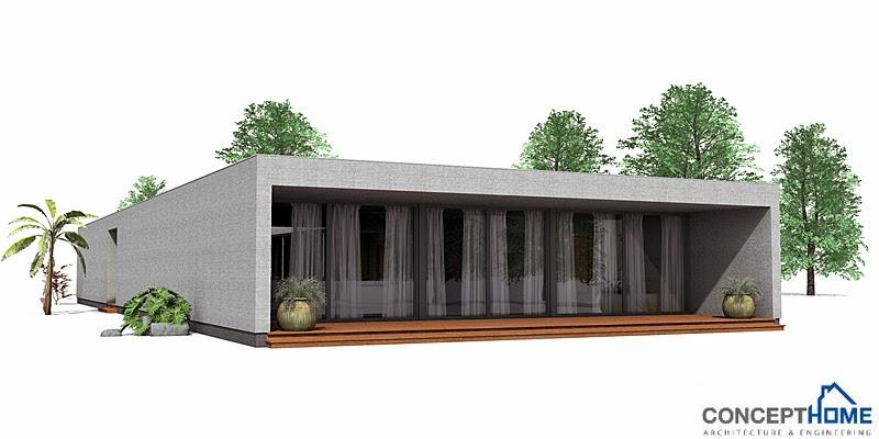 Plantas de casas modernas planta de casa moderna co105 for Casa moderna 9 mirote y blancana