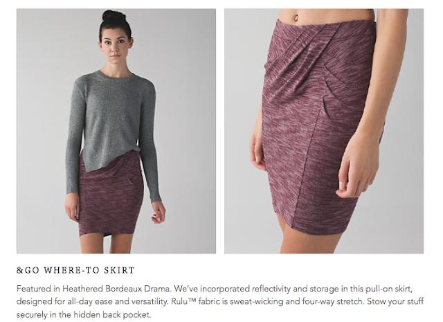 lululemon &go where-to skirt