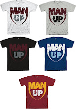Man Up Shirt Colors