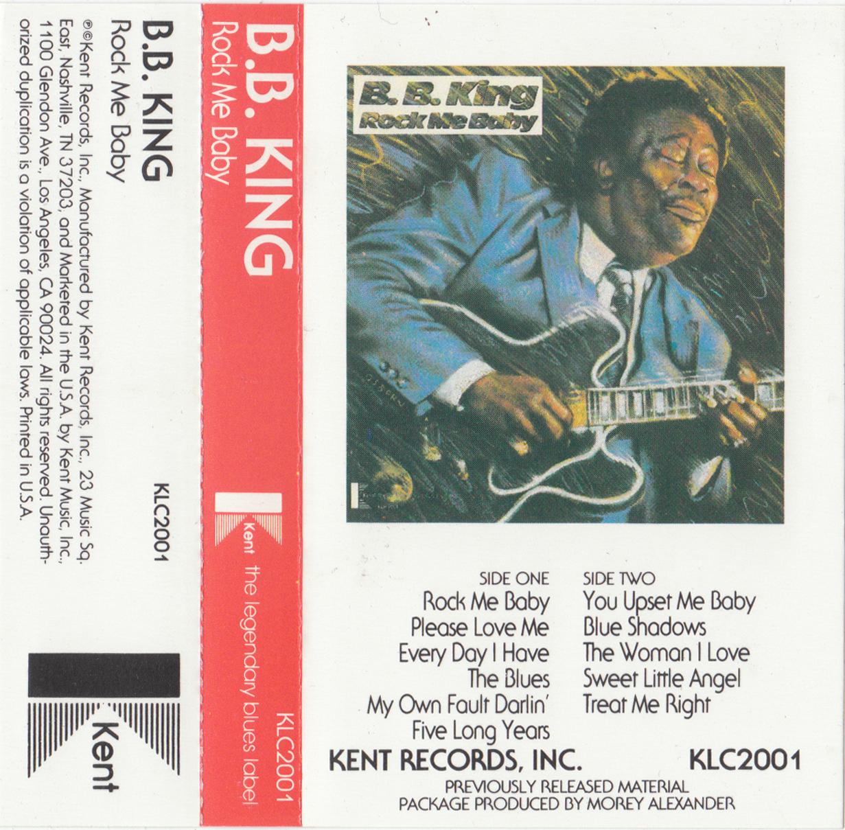 Cassette Cover Art Library B B King