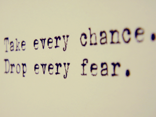 quotes about taking chances - photo #17