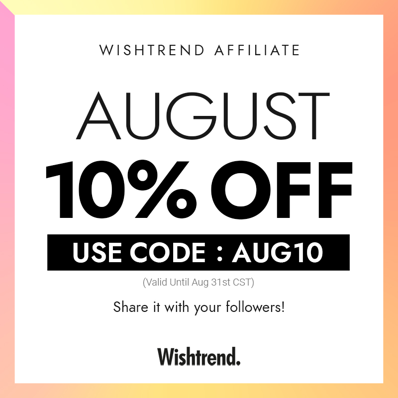 Wishtrend 10% OFF Coupon