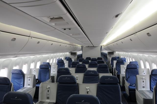 Ek Airlines Delta 767 300er Businesselite Lie Flat Seats