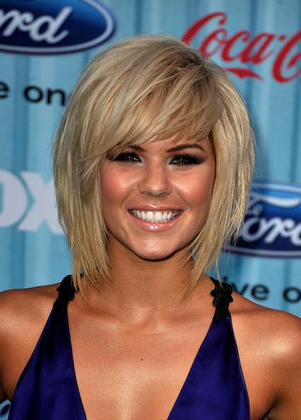 styles for short hair with bangs. Long Bob Hair Styles,Long Bob
